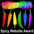 Utopia Spicy Gay Website award